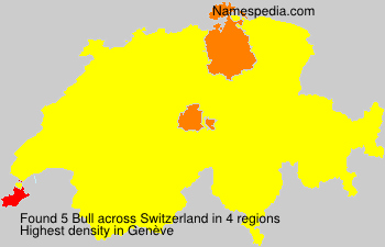 Surname Bull in Switzerland