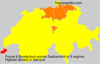 Surname Bundschuh in Switzerland