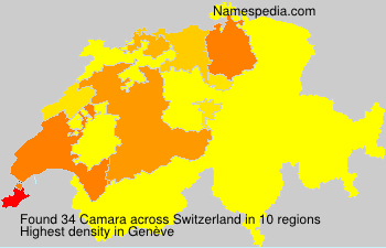 Surname Camara in Switzerland