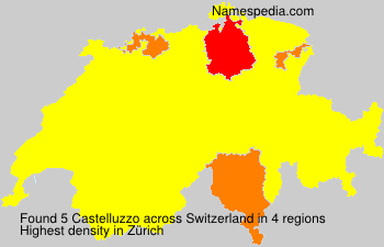 Surname Castelluzzo in Switzerland