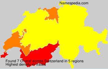 Surname Charaf in Switzerland