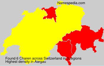 Familiennamen Charen - Switzerland