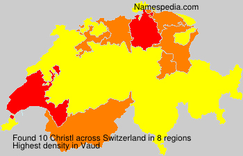 Surname Christl in Switzerland