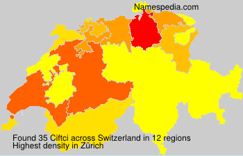 Surname Ciftci in Switzerland