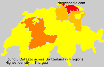 Surname Collazzo in Switzerland