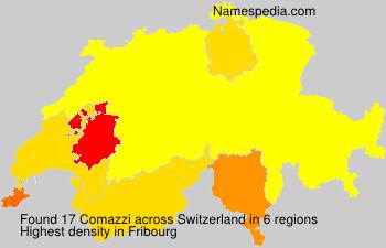 Surname Comazzi in Switzerland