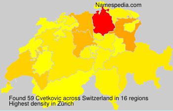 Cvetkovic - Switzerland