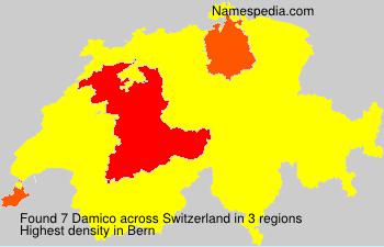 Familiennamen Damico - Switzerland