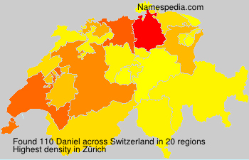 Surname Daniel in Switzerland