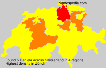 Surname Daniela in Switzerland