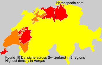 Surname Darwiche in Switzerland