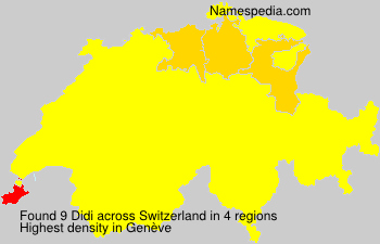 Surname Didi in Switzerland