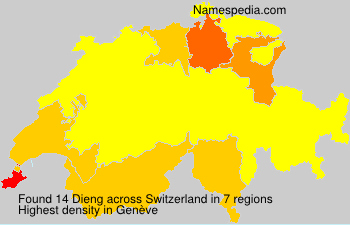 Surname Dieng in Switzerland