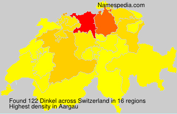 Surname Dinkel in Switzerland