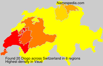 Surname Diogo in Switzerland