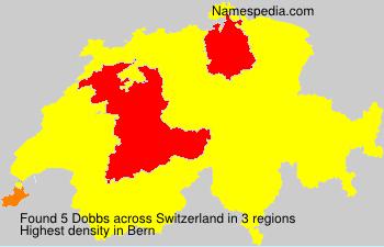 Surname Dobbs in Switzerland