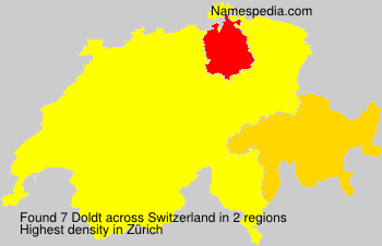 Surname Doldt in Switzerland
