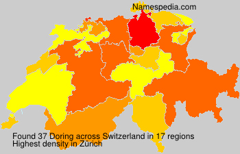Surname Doring in Switzerland