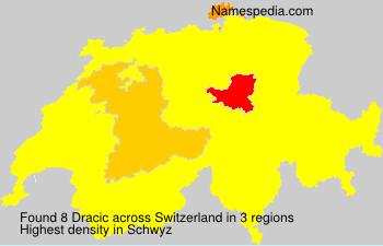 Surname Dracic in Switzerland