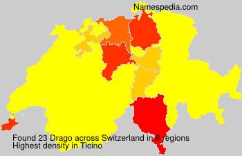 Familiennamen Drago - Switzerland