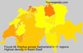 Familiennamen Dreyfus - Switzerland