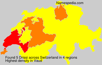 Surname Drissi in Switzerland