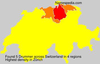 Familiennamen Drummer - Switzerland