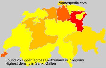 Familiennamen Eggert - Switzerland