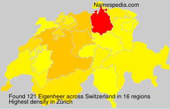 Familiennamen Eigenheer - Switzerland