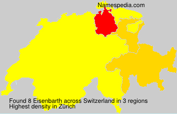 Surname Eisenbarth in Switzerland