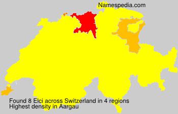 Familiennamen Elci - Switzerland