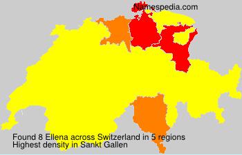 Surname Ellena in Switzerland