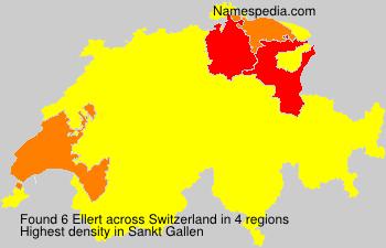 Surname Ellert in Switzerland