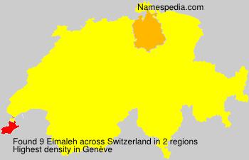 Familiennamen Elmaleh - Switzerland
