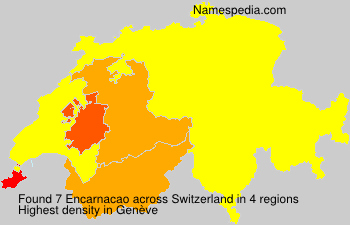 Surname Encarnacao in Switzerland