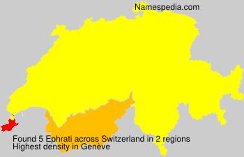 Familiennamen Ephrati - Switzerland