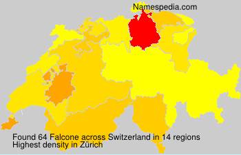 Surname Falcone in Switzerland