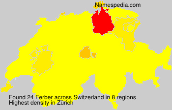 Surname Ferber in Switzerland