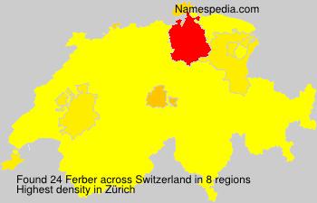 Familiennamen Ferber - Switzerland