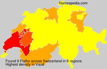 Surname Fialho in Switzerland