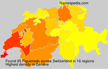 Surname Figueiredo in Switzerland