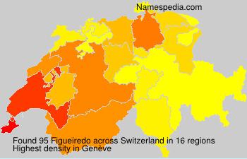 Surname Figueiredo in Switzerland
