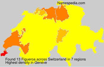 Surname Figueroa in Switzerland