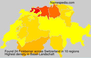 Familiennamen Finkbeiner - Switzerland