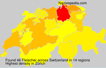 Surname Fleischer in Switzerland