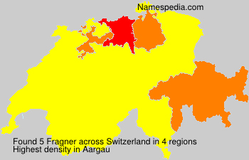 Surname Fragner in Switzerland