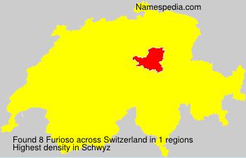 Surname Furioso in Switzerland