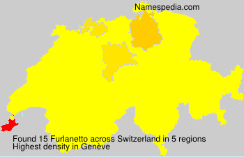 Surname Furlanetto in Switzerland