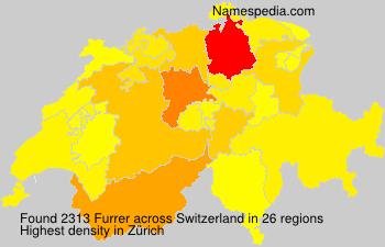 Familiennamen Furrer - Switzerland