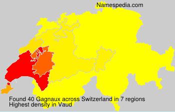 Familiennamen Gagnaux - Switzerland